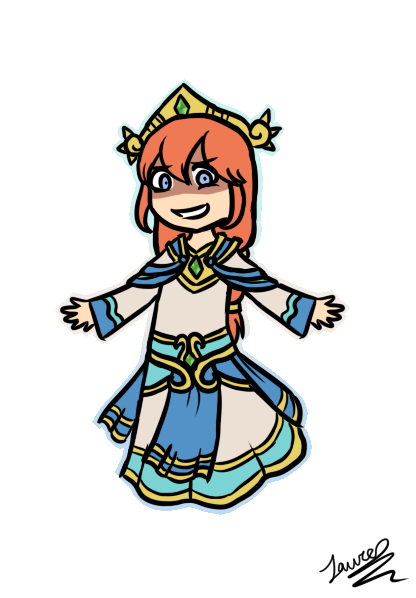 SMITE: Scylla Sticker by TheCoconutTurtle ClipartLook.com