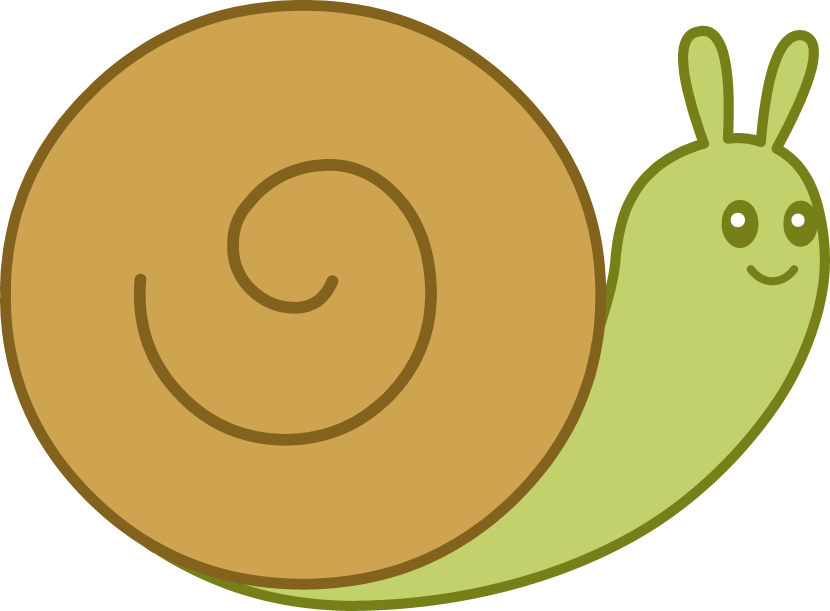 Snail clipart 2