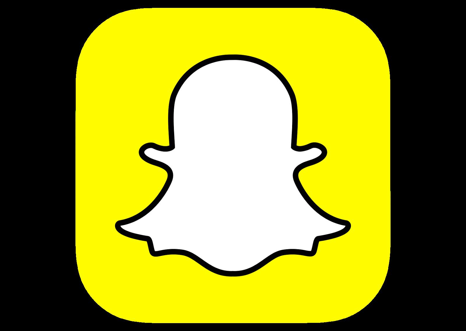Snapchat Logo Clipart - Snapchat Clipart