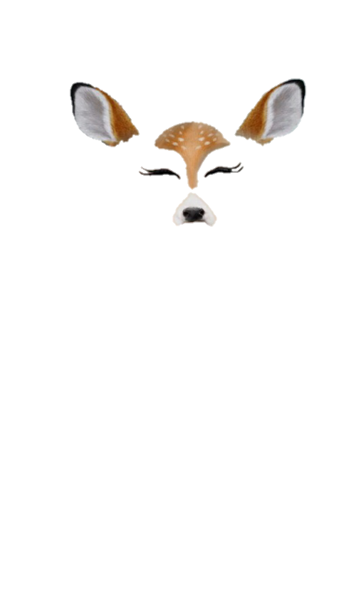 Deer snapchat filter???? Requested by @uhmyfeelings ???? Please like/reblog if  you save