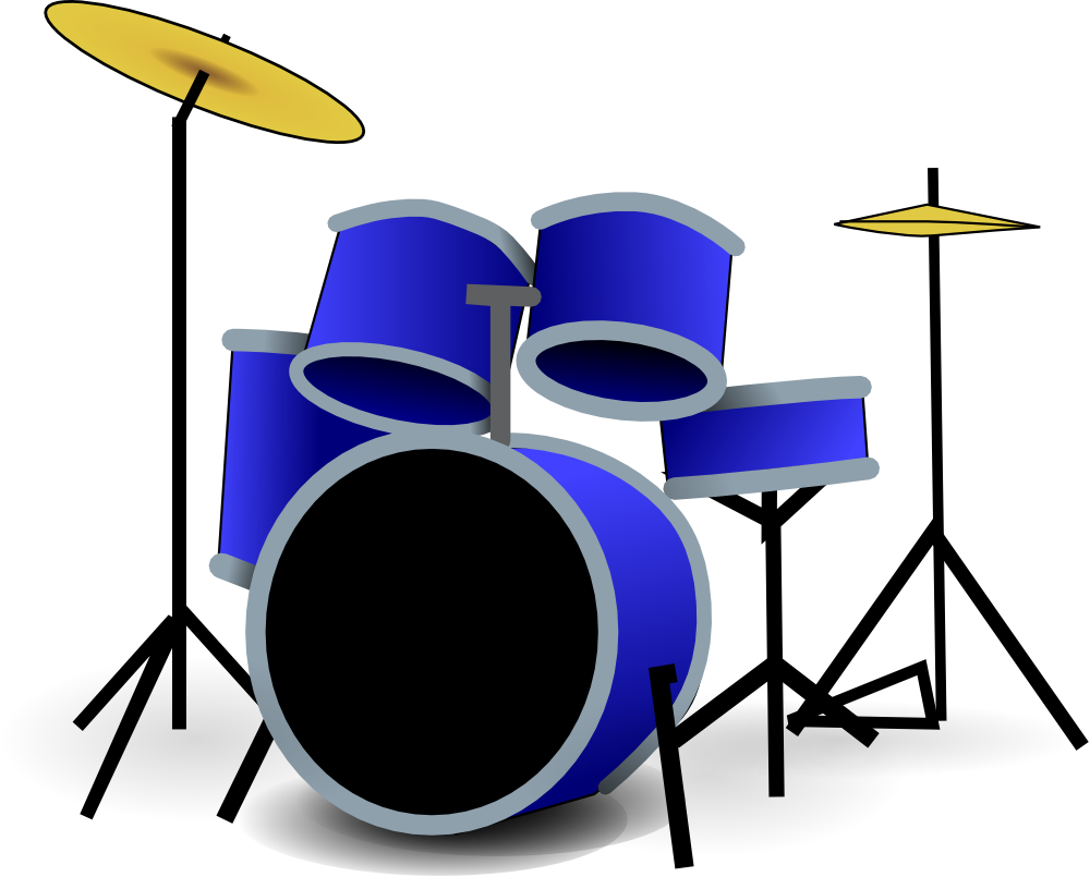 snare drum clipart black and white