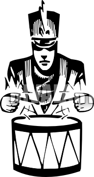 Snare Drum Clipart Black And White-snare drum clipart black and white-8