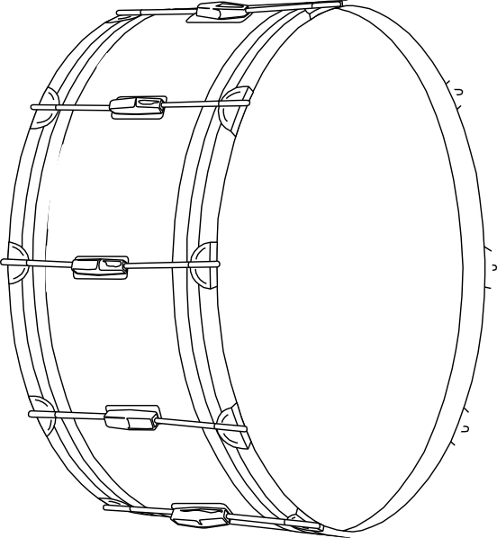 Snare drum drum clip art at vector clip art free