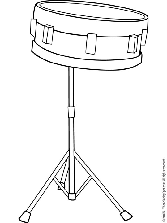 Snare Drum Image Detail For Thecolorings-Snare drum image detail for thecoloringspot wp content uploads clip art-17
