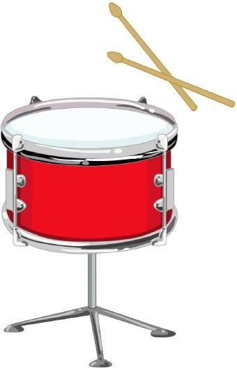 Snare Drum Red Drum Clipart-Snare drum red drum clipart-18