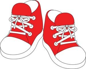 Sneaker shoe print clip art free vector in open office drawing svg