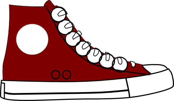 Sneakers Clip Art Images Free - Clip Art Sneakers