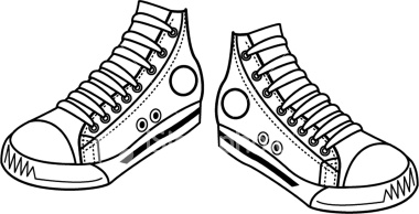 Sneakers pictures clip art im - Clip Art Sneakers