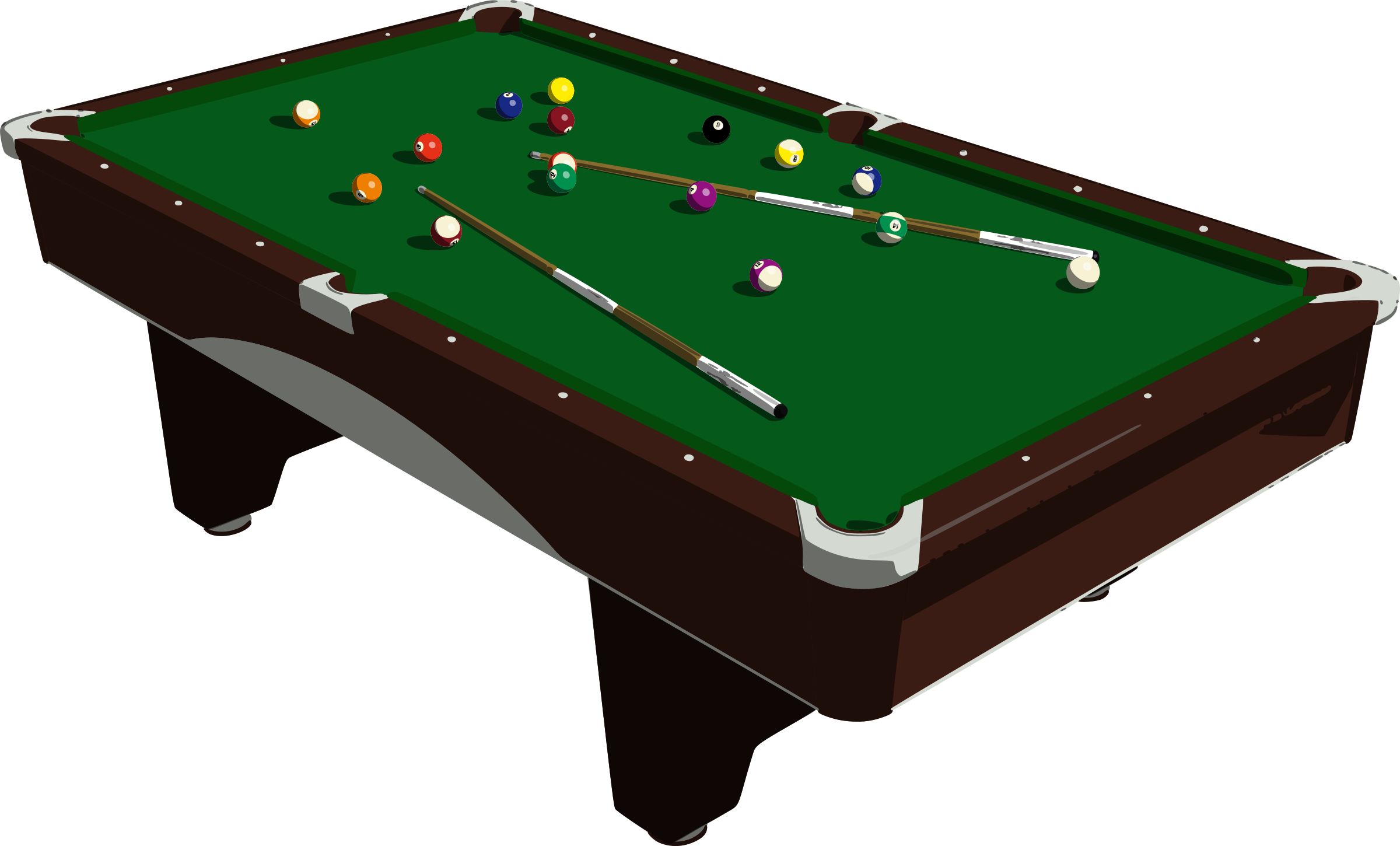 Download PNG image - Snooker Clipart 295