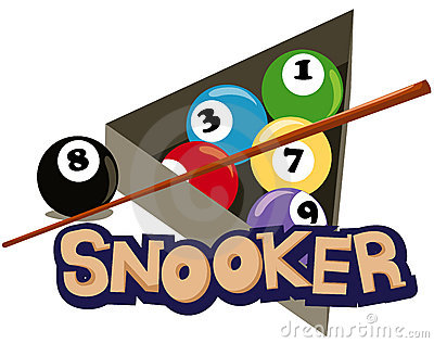 snooker clipart