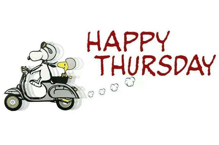 Snoopy Happy Thursday Picture - Thursday Clip Art
