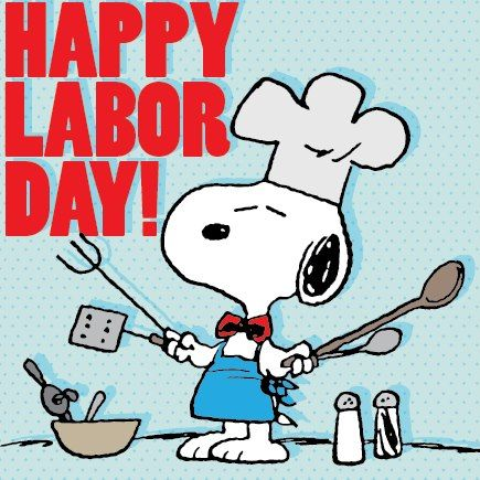 snoopy labor day clip art | happy labor day!