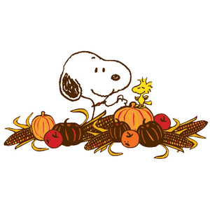 Snoopy - Snoopy Thanksgiving Clip Art