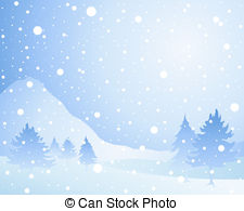 ... snow background - an illustration of a cold winter seasonal... ...