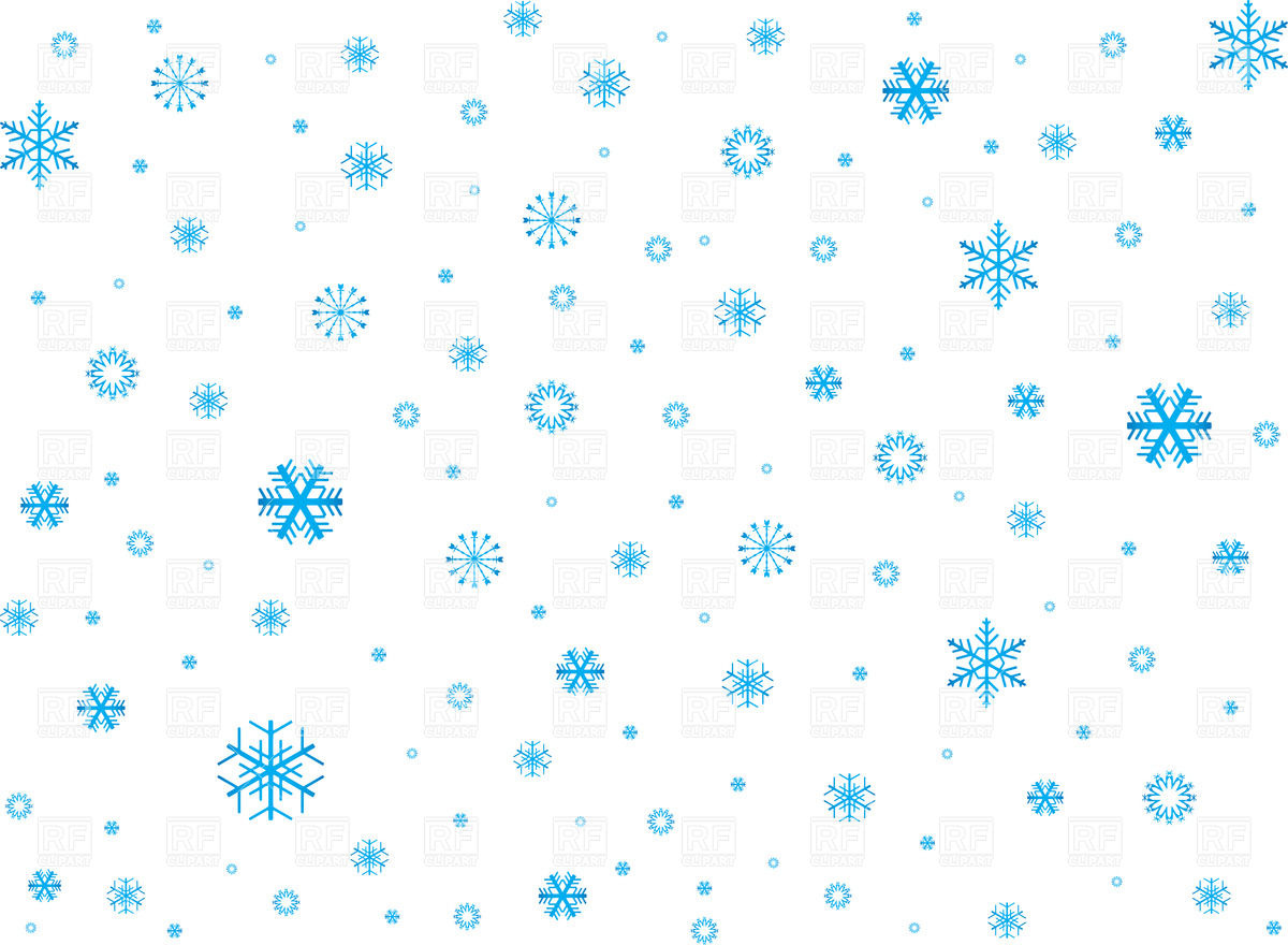 Snow background clipart kid