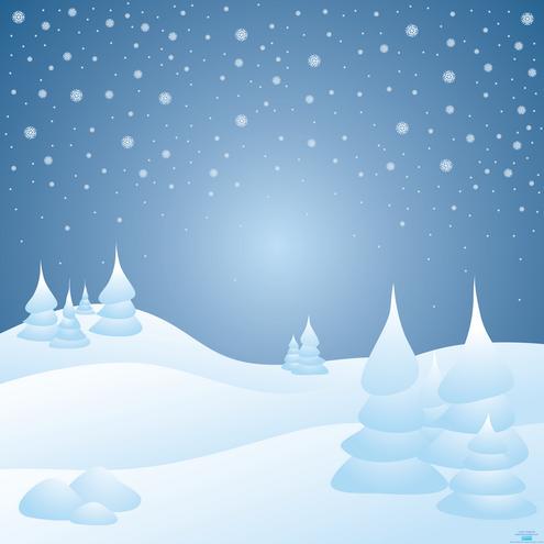 Snow background .