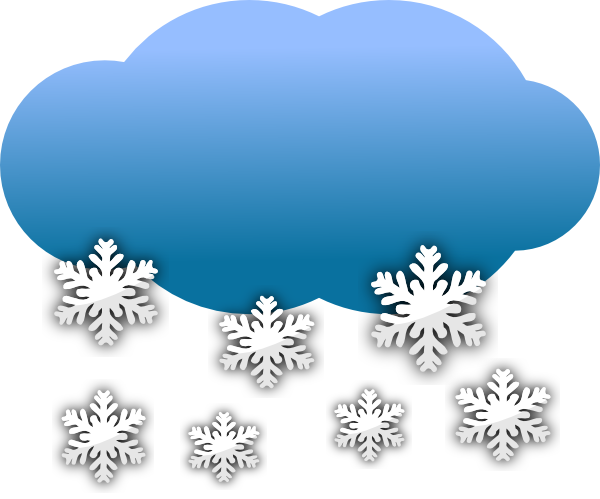 Snow Clouds Clip Art At Clker - Snow Clip Art