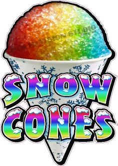 Snow Cone Concession Trailer .