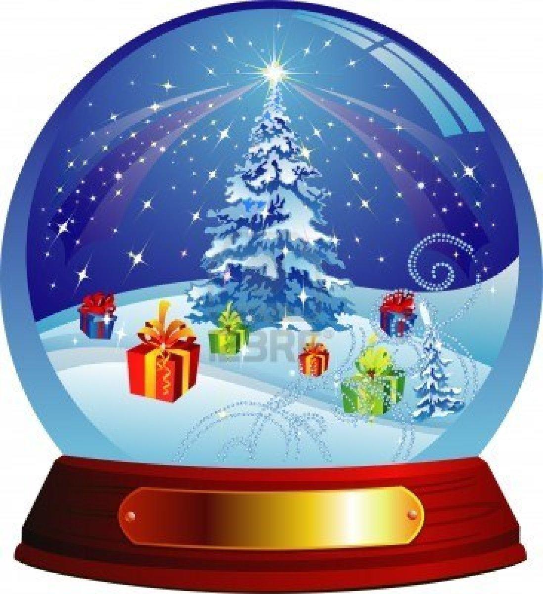 Snow Globe Clip Art