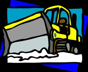 Snow Plow Clip Art