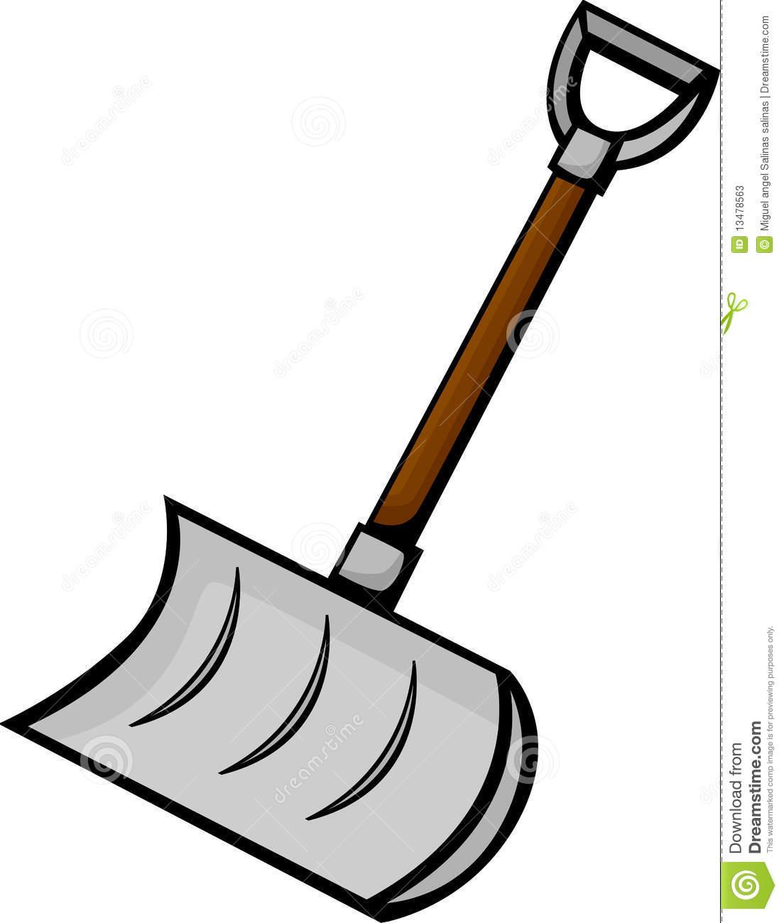 Snow Shovel Vector Illustration Stock Ph-Snow Shovel Vector Illustration Stock Photos Image 13478563-2