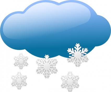 Snow storm symbols clip art F - Snowstorm Clipart