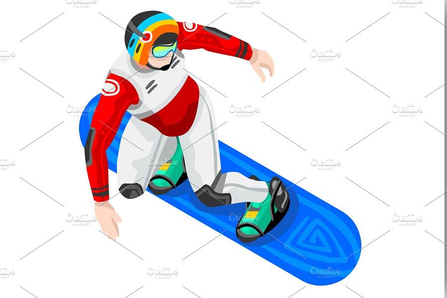 Snowboard Clipart-Clipartlook.com-900
