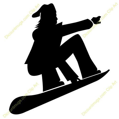 Snowboard Clipart #12072-snowboard clipart #12072-8