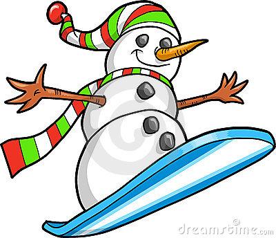 snowman snowboarding clip art - Google Search