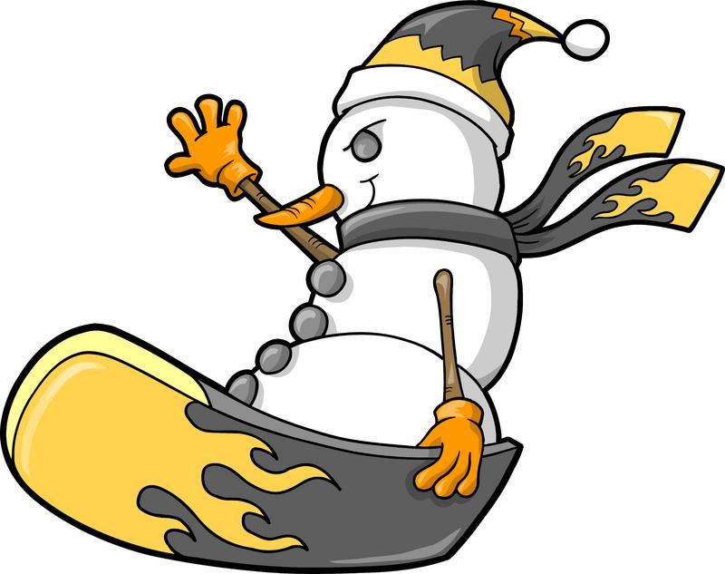 Snowboarding Clip Art. Snowboard cliparts. Snowboarding cliparts