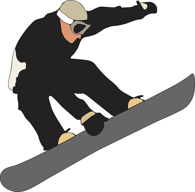 Snowboarding Clip Art-Snowboarding Clip Art-0