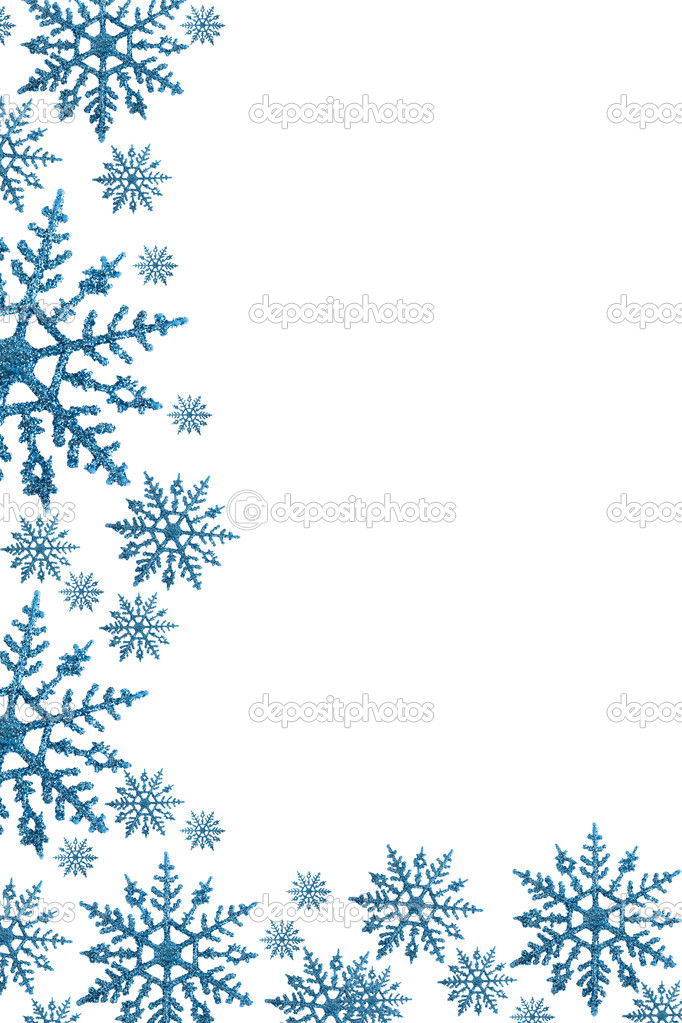 Snowflake Border Stock Photo Karenr 6325161