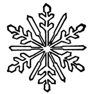 Snowflake clip art free - .