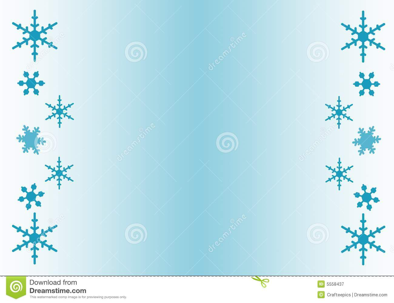 Snowflake Clipart Border Snowflake Borde-Snowflake Clipart Border Snowflake Border Clip Art-17