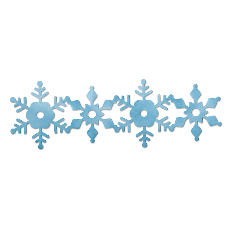 Snowflake Clipart Border Snow - Snowflake Clipart Border