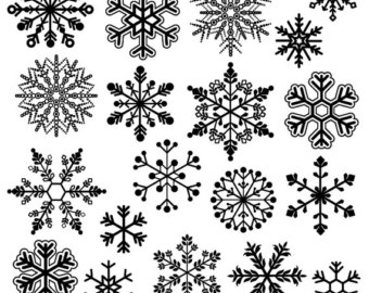 Snowflake Clipart Clip Art, S - Snow Flakes Clipart