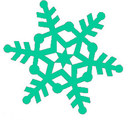 Snowflake clipart free download-Snowflake clipart free download-18