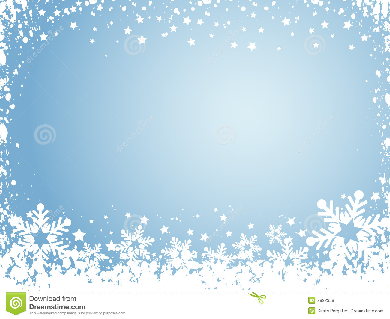 Snowflake Clipart Free No . - Snow Background Clipart