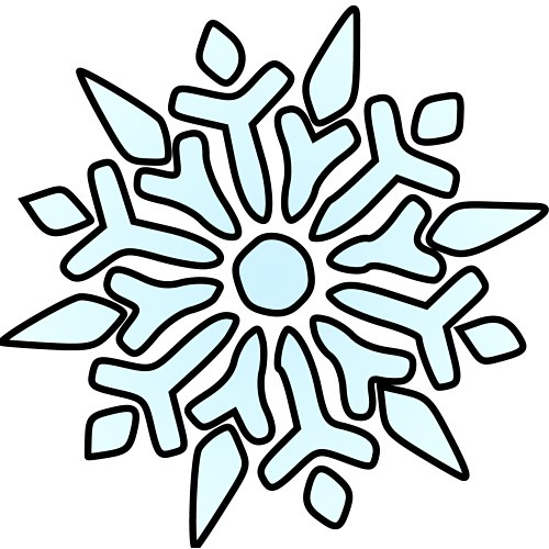 Snowflake Clipart-Snowflake Clipart-9