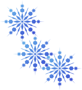 Snowflakes Blue Clip Art At C - Free Snowflake Clip Art