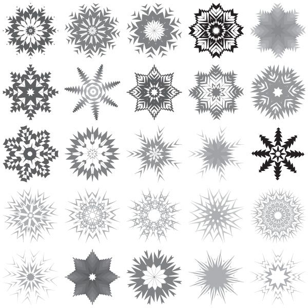 Snowflakes Free Vector Art-Snowflakes Free Vector Art-17