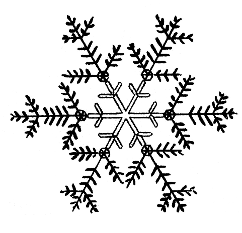 Snowflakes snowflake clipart 3