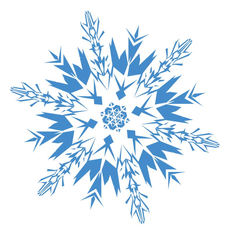 Snowflakes snowflake clipart .-Snowflakes snowflake clipart .-16