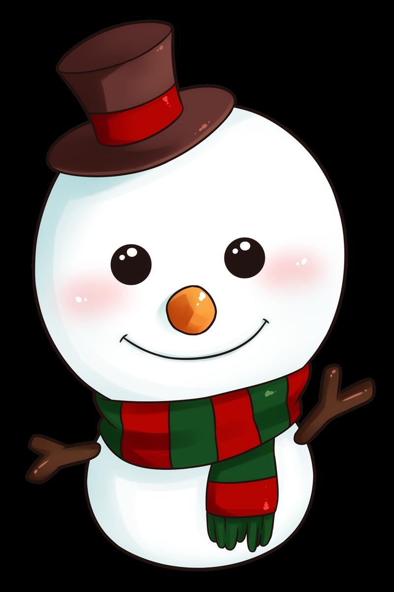 Snowman clip art - ClipartFest