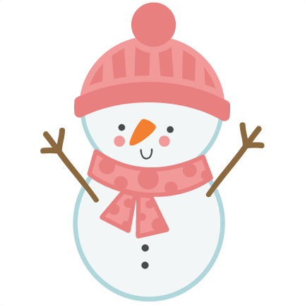 432x432 Girl Snowman SVG Scrapbook Cut F-432x432 Girl Snowman SVG scrapbook cut file cute clipart files for-1