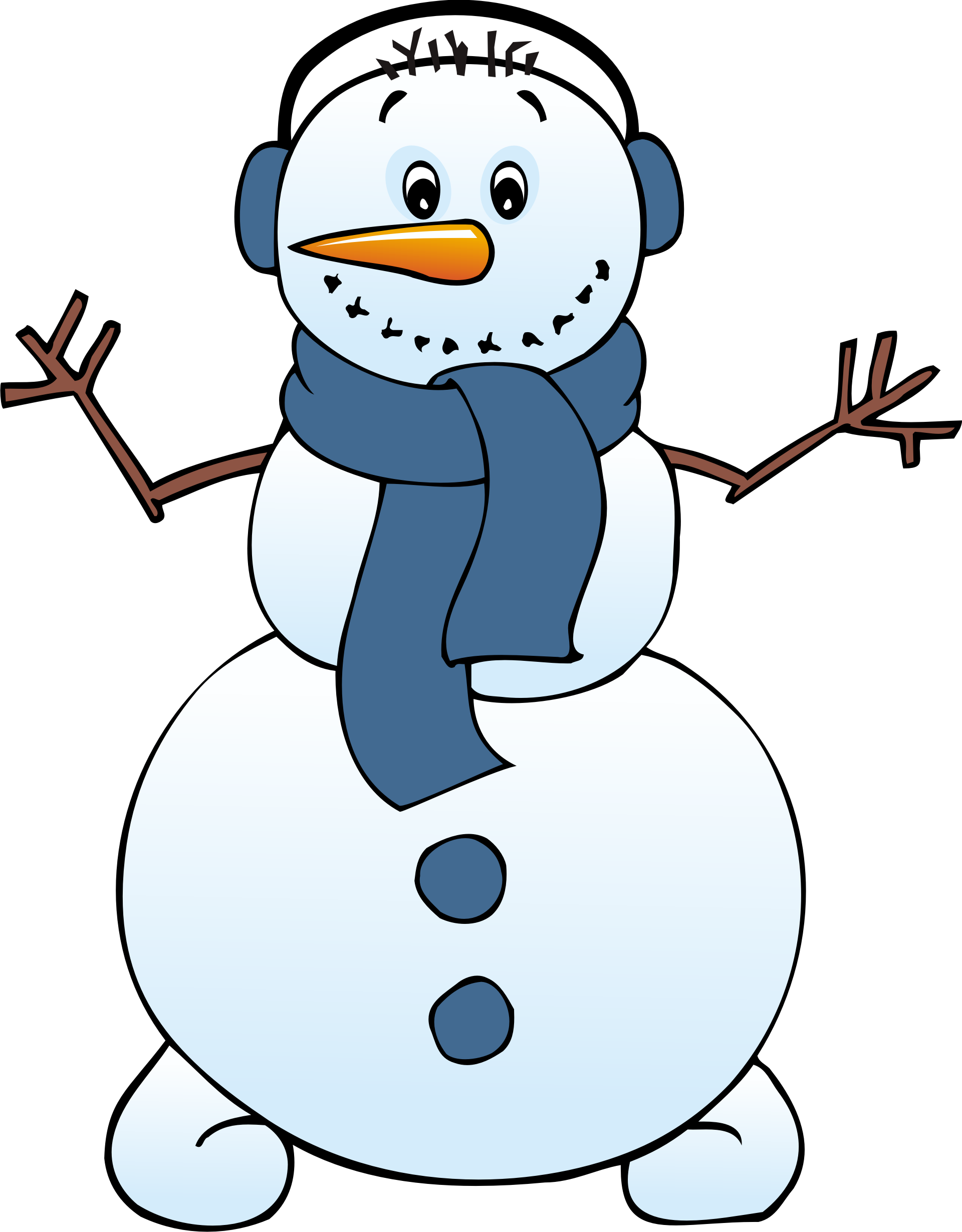 Cute Snowman Clip Art | Free Snowman Cli-Cute Snowman Clip Art | free snowman clipart . Free cliparts that you can  download to you .-5