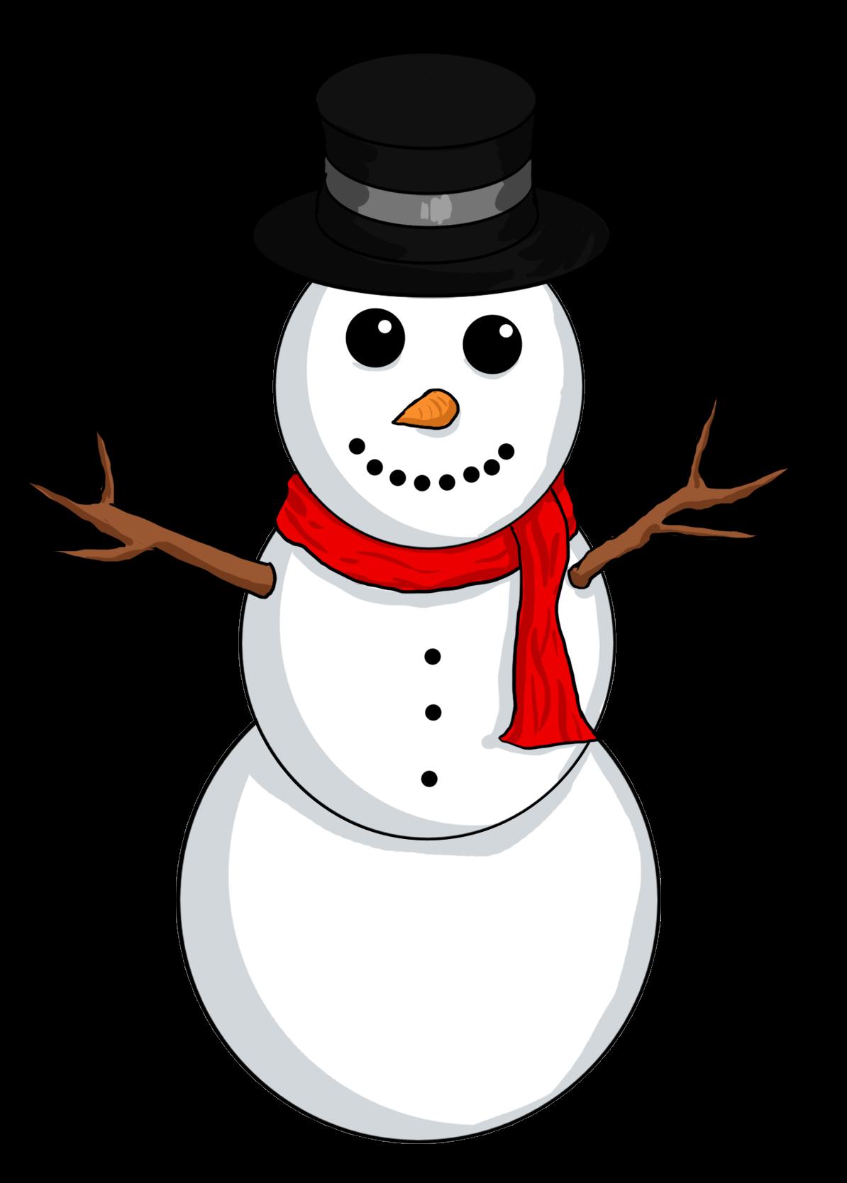 Snowman Clipart Free Illustration Image-Snowman clipart free illustration image-14