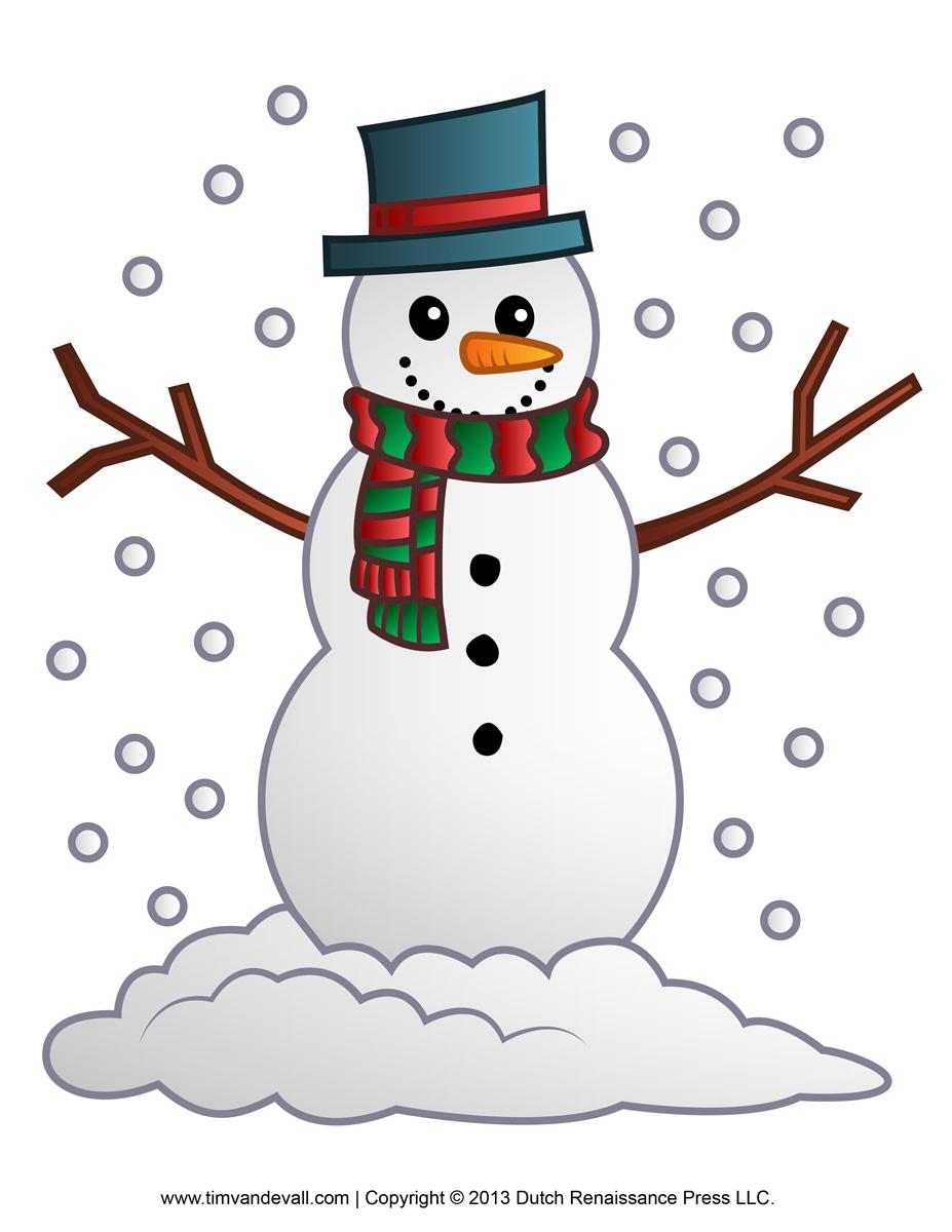 Snowman Clipart Free - clipartall