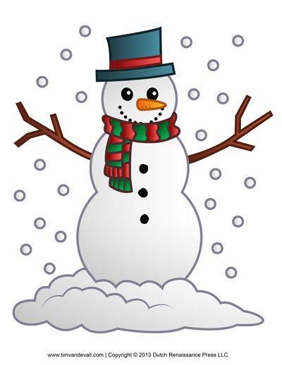 Snowman Clipart-Snowman Clipart-17