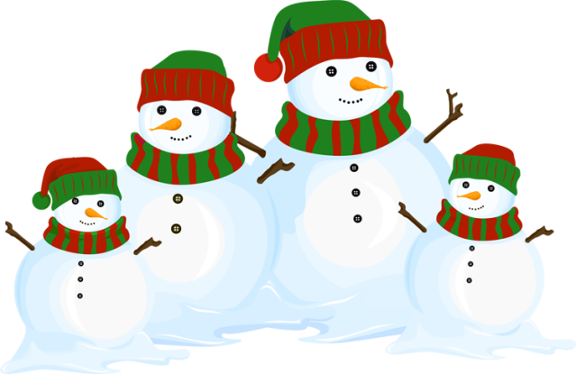 Snowman Family Clipart Images Pictures Becuo
